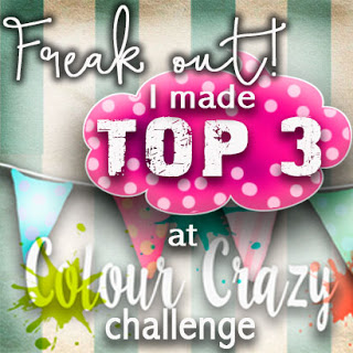 Top 3 Winner at Colour Crazy Challenge