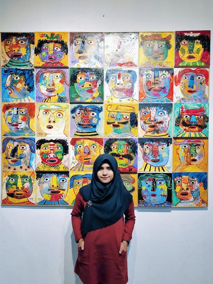 "Pameran Tunggal Seni Rupa Karya Ekwan Marianto, ""The Journey of Happiness"""