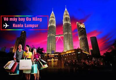 Vé máy bay Đà Nẵng đi Kuala Lumpur