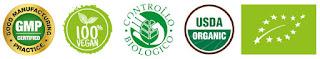 Certificazioni ottenute da HDR per i prodotti All'Aloe Arborescens