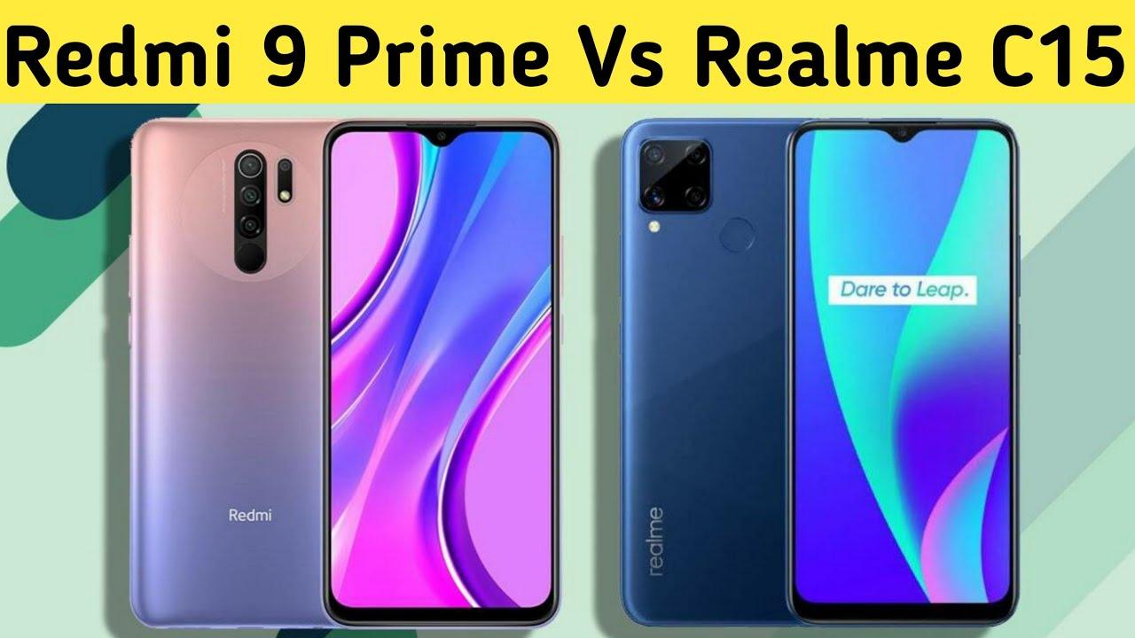 Realme C15 vs Redmi 9 Prime