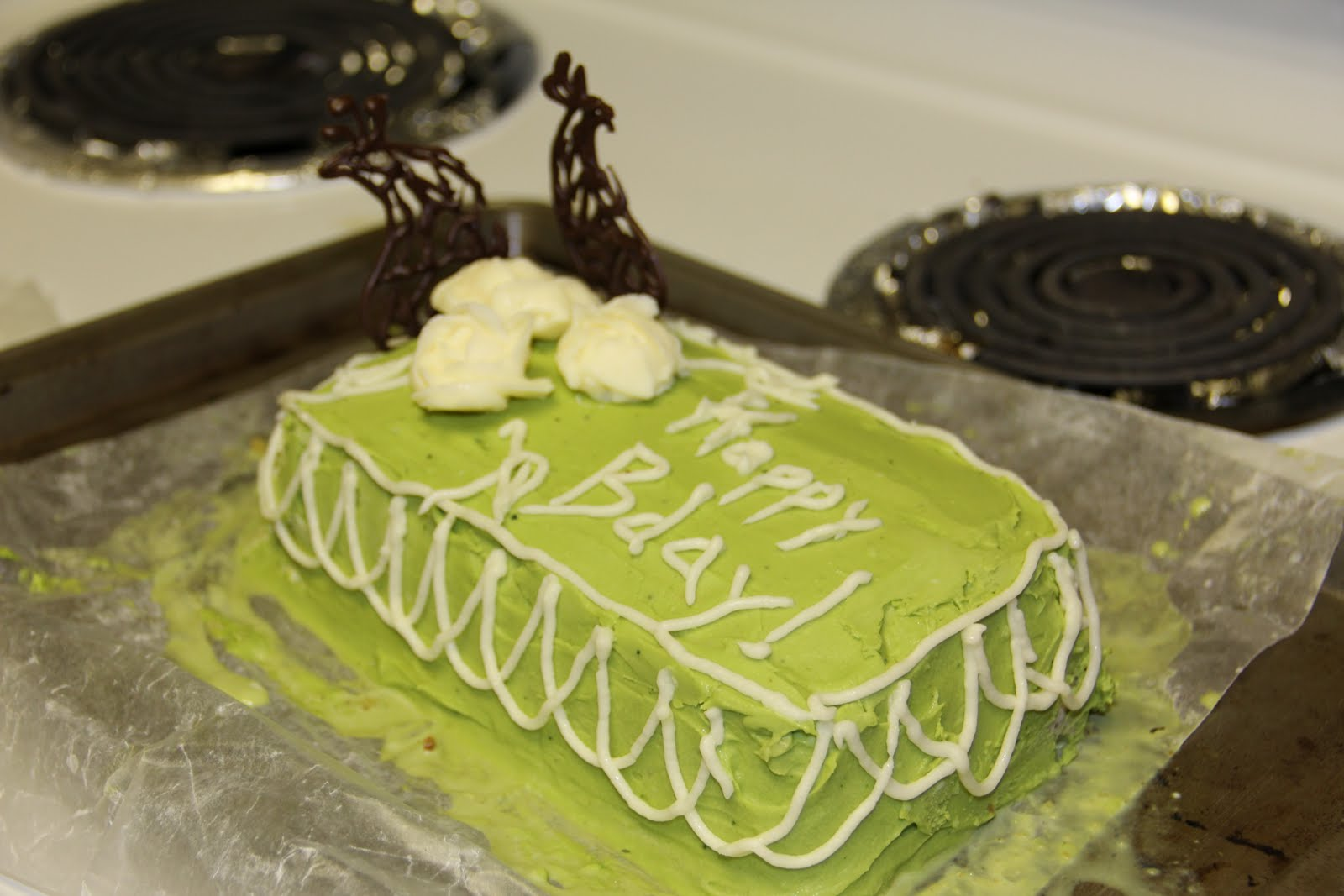 priya s food blog green tea ice cream cake with green tea icing