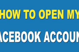How to Open Facebook 2019