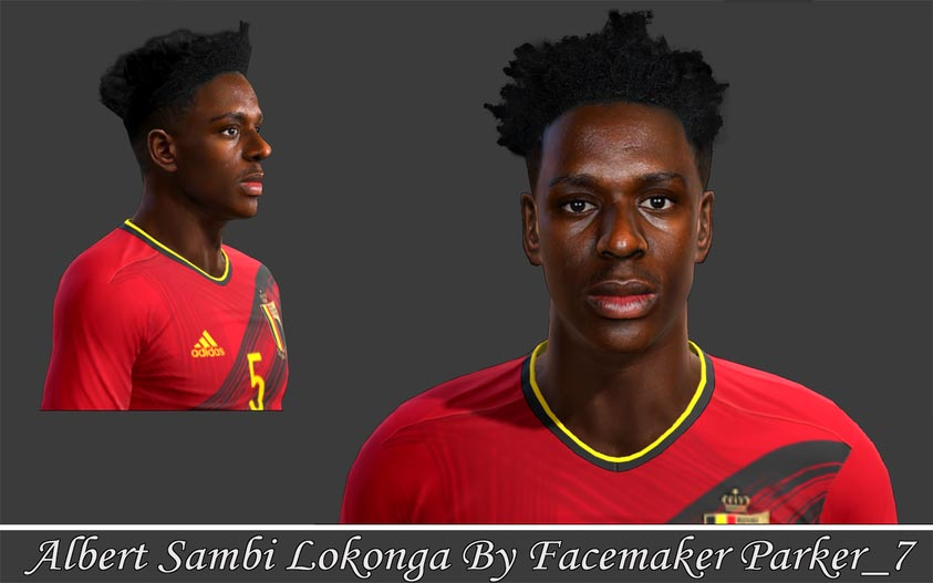 Albert Sambi Lokonga Face For PES 2013