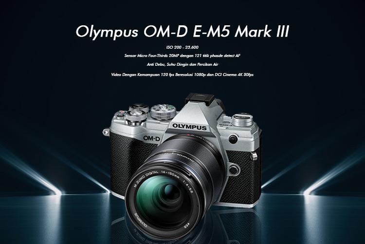 Spesifikasi Olympus OM-D E-M5 mark III