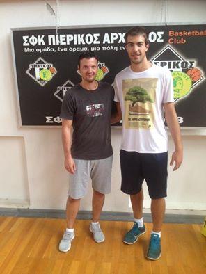 Ο Γιώργος Κωνσταντινίδης στον Πιερικό Αρχέλαο- Αρχισαν τα αγωνιστικά τμήματα