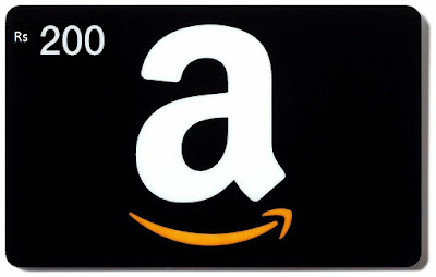 Get Rs 200 amazon.in Gift Card