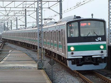埼京線 快速 新宿行き1 205系