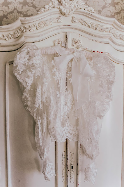 Forever Unique sheer white pussybow blouse