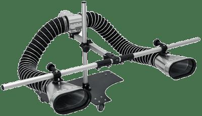 Nastavitelný adaptér pro dvojité výfuky