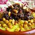 Couscous Tefaya et oignions caramélisés |<br>Tefaya and caramelized onions couscous