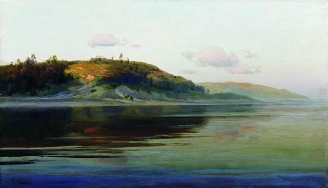 Исаак Ильич Левитан - Летний вечер. Река. 1890-1896
