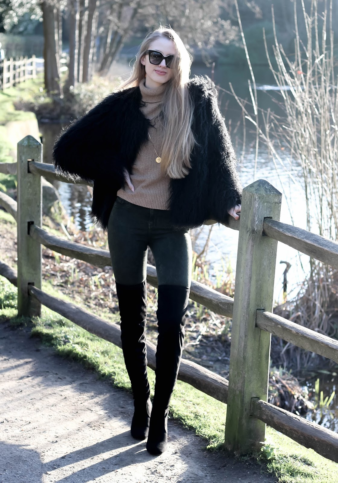 How to style chic neutrals in winter
