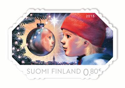 Filatelia Navideña - Finlandia 2015
