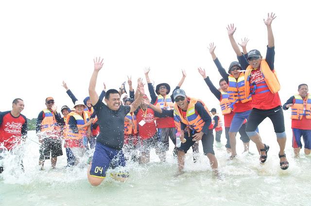 Ghatering di Belitung bersama Universitas Indonesia