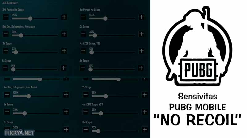 tips bermain pubg mobile sensitivitas