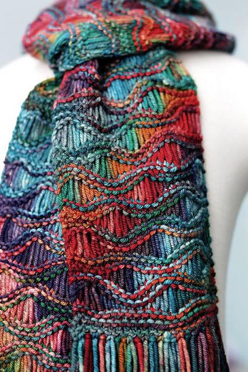 Easy Drop Stitch Scarf - Free Pattern