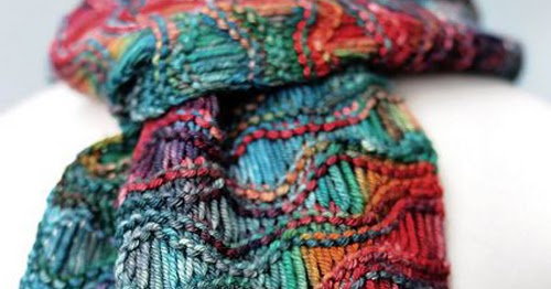 Knitting Gate: Easy Drop Stitch Scarf - Free Pattern