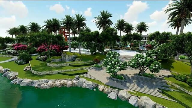 Phân khu Wellness Resort Indochine dự án Sunshine Heritage Resort Phúc Thọ Hà Nội