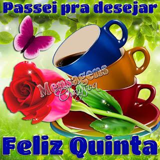 Imagens de Bom Dia Quinta Feira para Meus Amigos