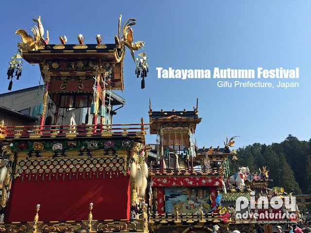 Takayama Autumn Festival in Gifu Prefecture Japan