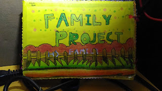 Hs Family Project Flip Chart