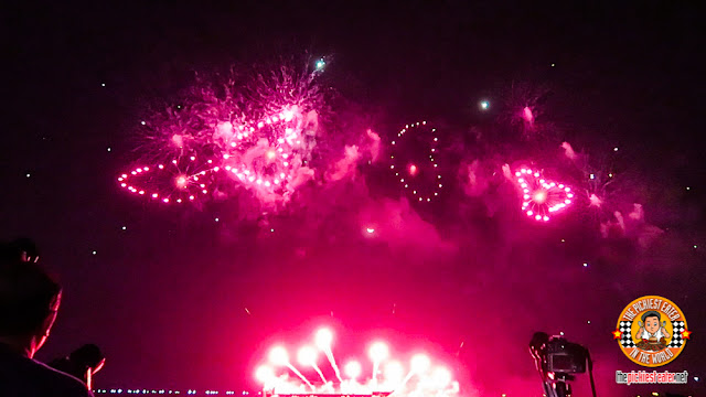 Heart fireworks SM Pyro Olympics