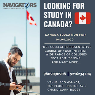 Best Study Visa Consultant In Chandigarh Pathankot, Amritsar, Mohali, Punjab and Haryana
