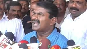 Seeman condemns TN CM Edappadi Palaniswamy for doing election works