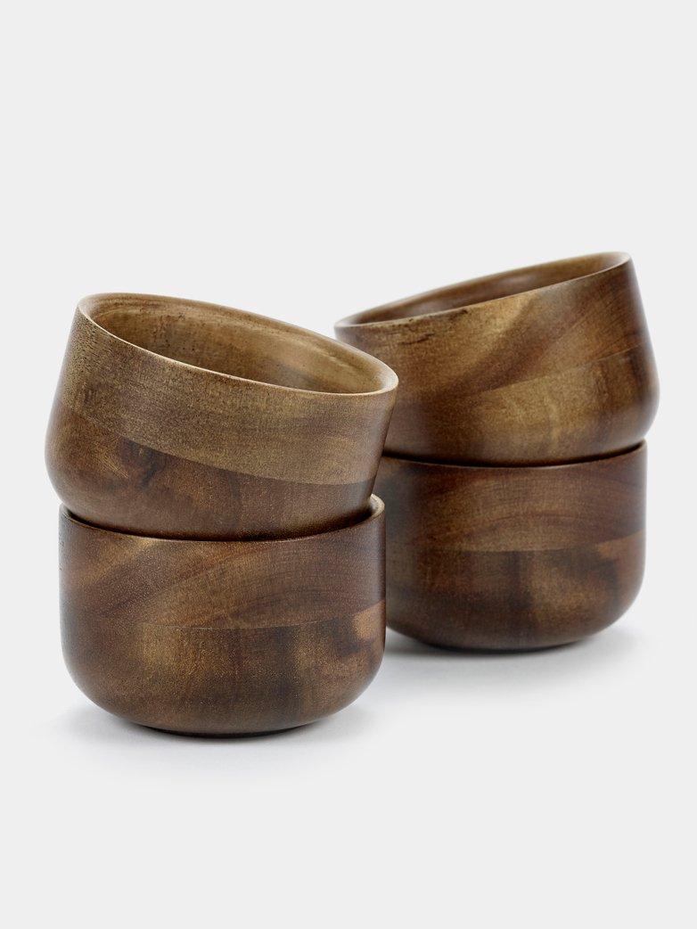 miseczka z drewna