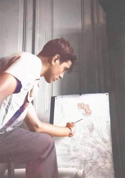 شاهد صور يوسف داوود في شبابه سببت صدمة لجمهور السوشيال ميديا