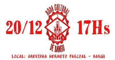 Roda Cultural de Bangu na Areninha Hermeto Pascoal nesta quarta (20)