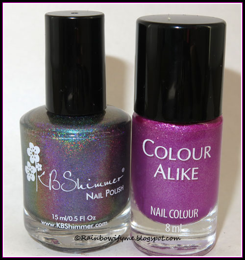 KBShimmer: None of Your Bismuth and Colour Alike: B. a Lilac Sweater