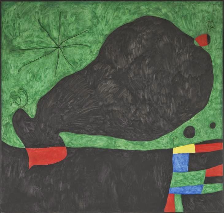 Mensagem de um Amigo - Miró, Joan e suas principais pinturas