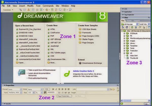 Dreamweaver 8 Vista 64 Coridelaquad