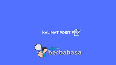 Kalimat positif