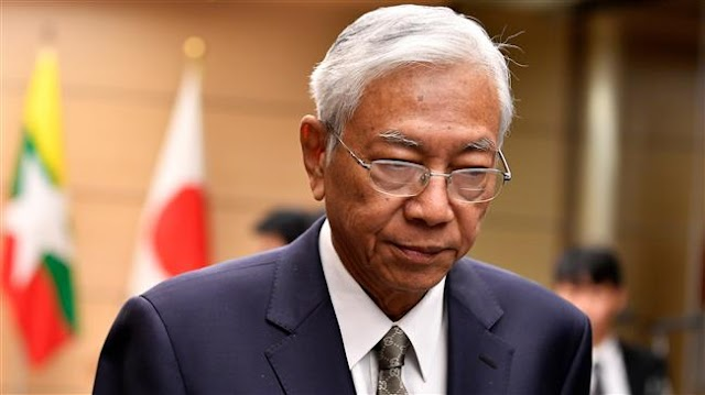 Myanmar's President Htin Kyaw resigns 'to take rest from duties'