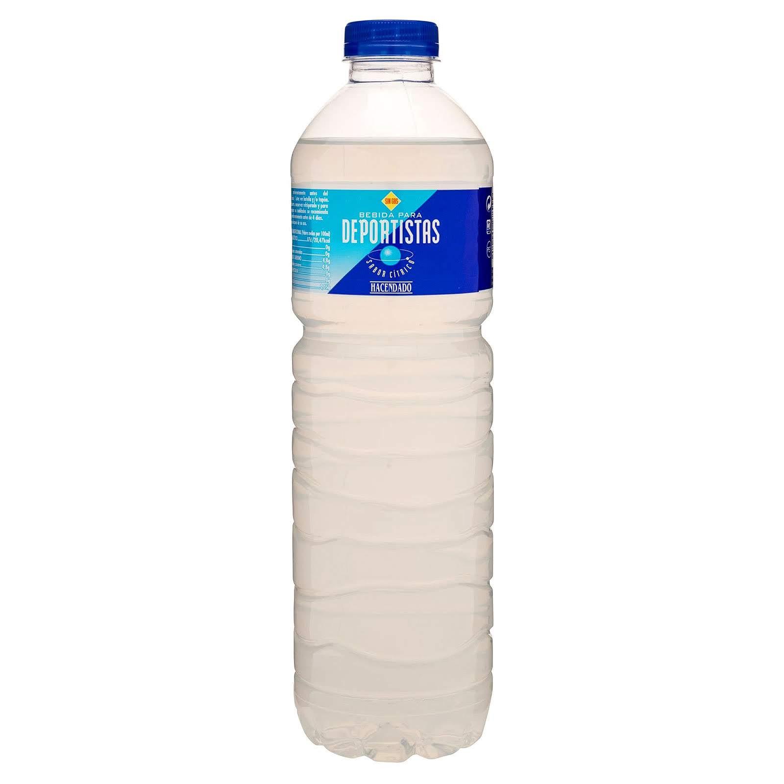 Bebida para deportistas sabor cítrico Hacendado