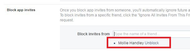 How To Block App And Game Invites On Facebook 4