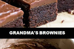 #The #World's #most #delicious #Grandma's #Brownies