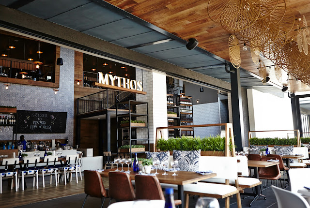 Mythos #Greek #Restaurant #thelifesway #photoyatra Mall of Africa