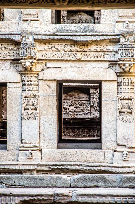 Lord Vishnu sleeping on Shesh Shayya in ksheer sagar