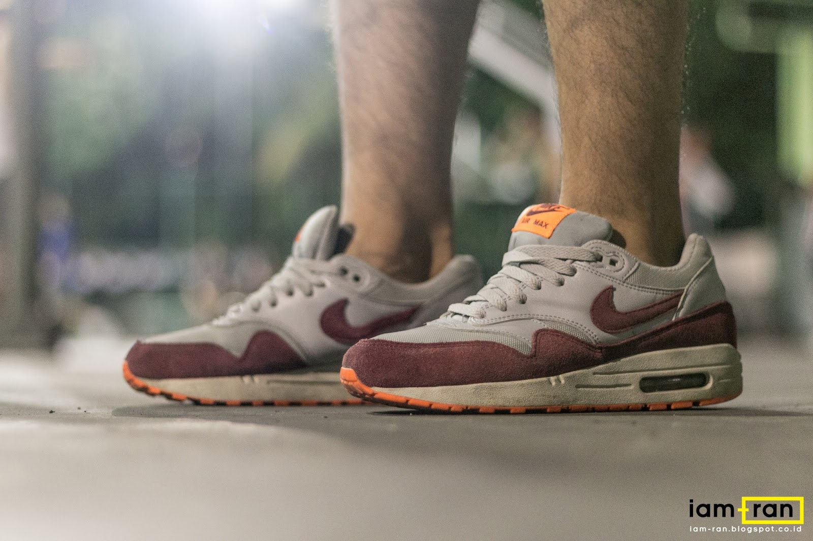 23fb2384fd IAM-RAN: ON FEET : Rioco - Nike Air Max 1 essential