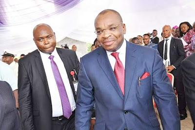 Governor Udom at Reigners Bible Church Akwa Ibom