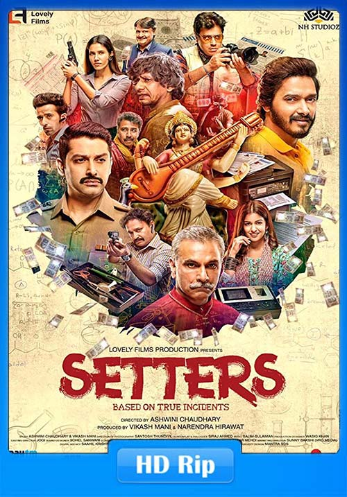 Setters 2019 720p Hindi HDTVRip x264 | 480p 300MB 100MB HEVC