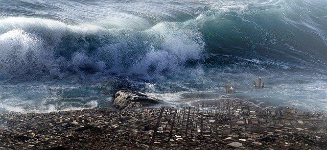 Arti mimpi Tsunami lengkap