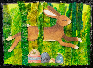 Easter ATC (Artist Trading Card)