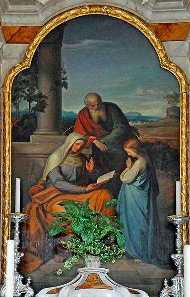 26 juillet Sainte Anne et Saint Joachim  383px-Mahlknecht_St._Annakirche_St._Ulrich_Gröden