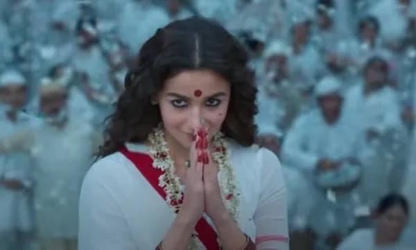 Alia Bhatt's Movie - Gangu Bai Kathiawari -  Teaser Released