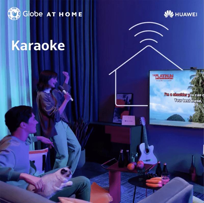 Family can enjoy karaoke nights with a pre-installed Platinum Karaoke